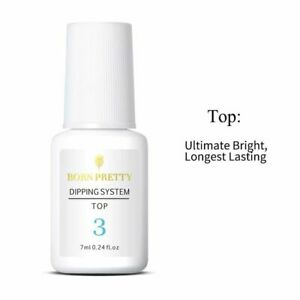 Born-Pretty-Dipping-Powder-System-Top-Coat-Preserve-Nails-Long-Lasting-7ml
