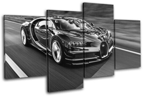 Bugatti Chiron Exotic Supercar Cars MULTI CANVAS WALL ART Picture Print
