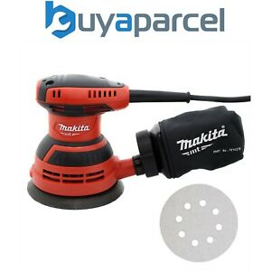 Makita-M9204-125mm-5-034-240v-Electric-Random-Orbital-Sander-with-Dust-Bag