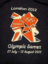 London England Olympic Games 2012 OFFICIAL Merchandise Hoodie Sweatshirt Blue XS