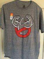 Ghostbusters T-shirt Size Medium Mens Gray