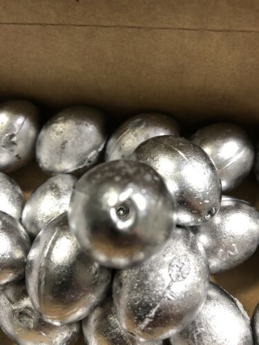 25 Pieces New 3oz Egg Slip Fishing Sinkers Most Popular Item!