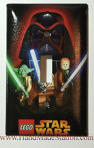 Lego Star Wars Darth Vader Light Switch Power Outlet Cover Plate