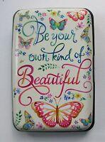 Q Beautiful Butterfly Wallet Credit Card Holder Case Rfid Identity Theft Blocker