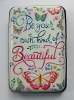 Q Beautiful Butterfly Wallet Credit Card Holder Case Rfid Identity Theft Blocker