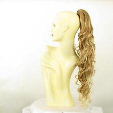 Hairpiece ponytail wavy long light blond blond copper wick 65 cm 10 27t613 peruk