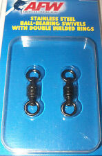 Riptail Ball Bearing Fishing Swivels with Welded Rings
