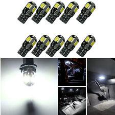 10 x Canbus T10 194 168 W5W 5730 8 LED SMD weiße Auto Seiten Keil Glühlampe