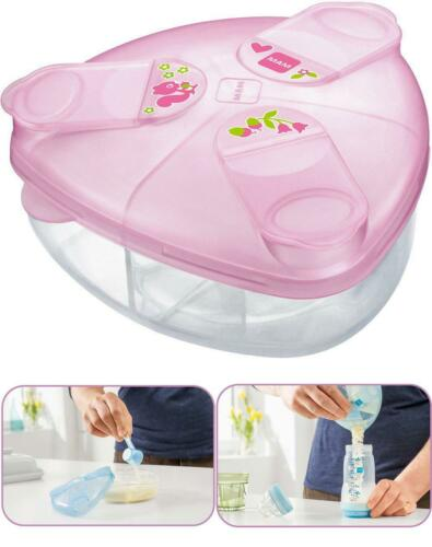 BEST Milk Powder Dispenser Pink Feeding Baby On The Go Is Now Quick And UK FAST
