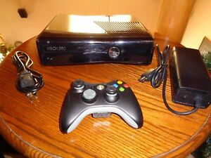 Details about Microsoft Xbox 360 S 320GB Glossy Black Console