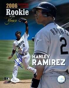 Hanley Ramirez Rookie Jsa Coa Signed 8x10 Photo Authenticated Autograph