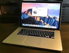 Apple 15 inch RETINA Macbook Pro 2.6Ghz i7 , 16GB RAM , 1TB Flash SSD Nvidia 750