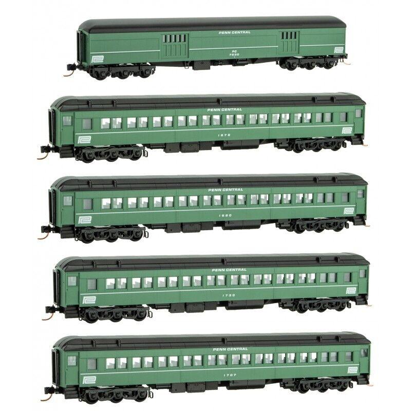 Micro-Trains N Penn Central Heavyweight 5 car set MTL99301750