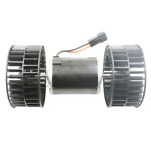 HVAC-Blower-Motor-w-Dual-Fan-Wheels-Fits-Volvo-Truck-V2379001-12V