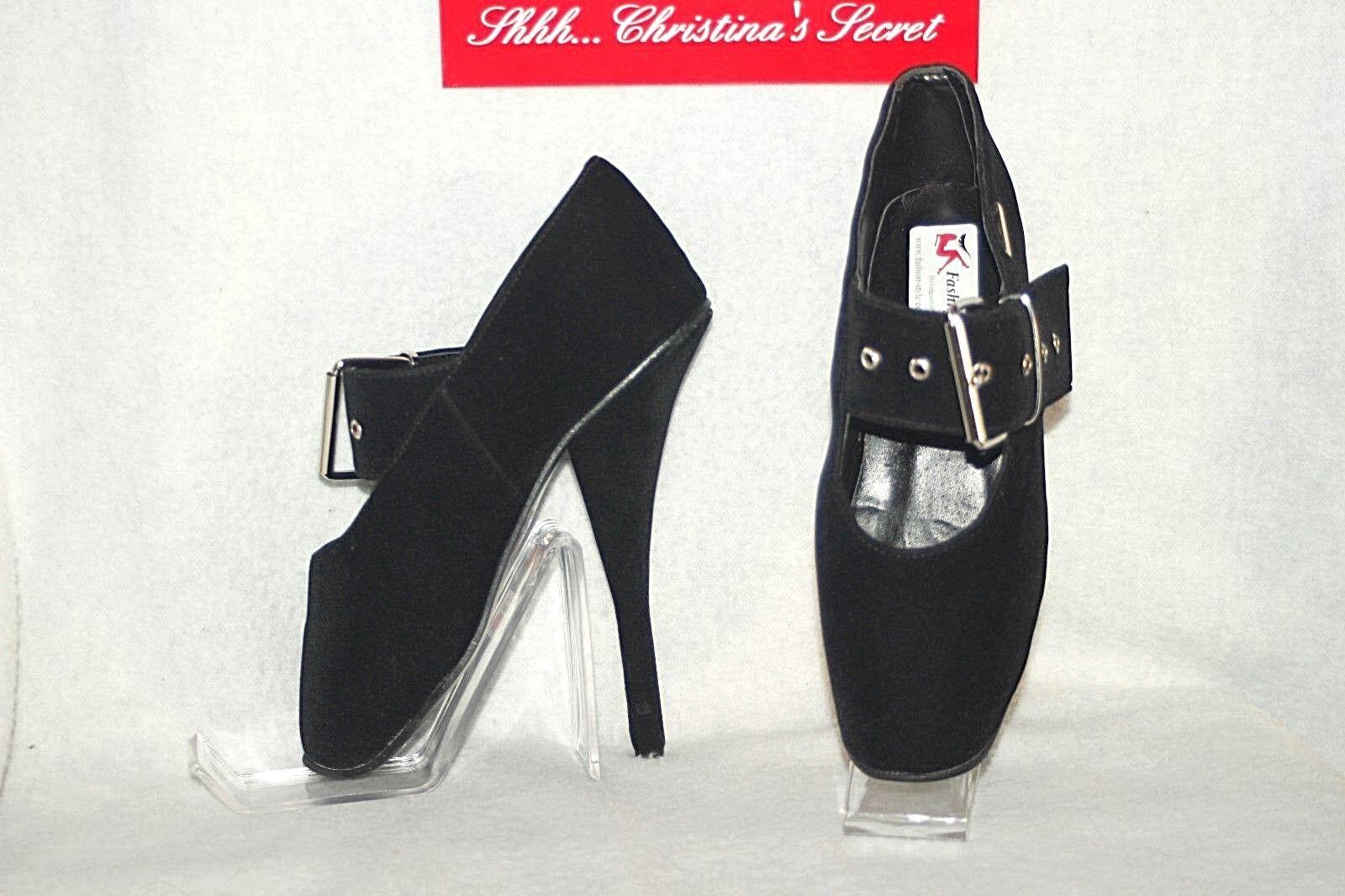 tutto in alta qualità e prezzo basso FASHION FASHION FASHION STYLE Bolingier Poland nero Ballet Pointe Toe Exotic scarpe Heels Sz 38  prendiamo i clienti come nostro dio