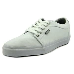 NEW VANS CHUKKA LOW CHAMBRAY TRUE WHITE MENS 7.5 SKATE SHOES WOMENS ... f82871fdb1