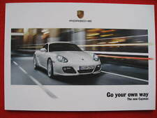 Porsche 'Go Your Own way' The New Cayman - Edition 10/2008.