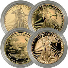 1/2 oz Proof American Gold Eagles (Random Year, Capsules Only)