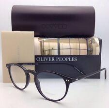 Brand New OLIVER PEOPLES Eyeglasses RILEY R BK OV 5004 1005 43-20 Black Frames
