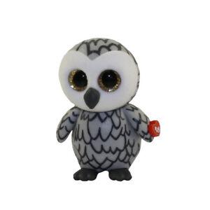 6b478f6bf5d TY Beanie Boos Mini Boo SERIES 2 Collectible Figure - OWLETTE Grey ...