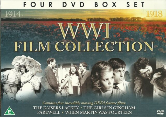 WWI Film Collection 5060294376071 With Werner Peters DVD Region 2