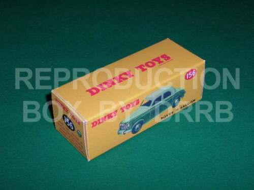 red Dinky #156 Rover 75 Saloon Reproduction Box by DRRB