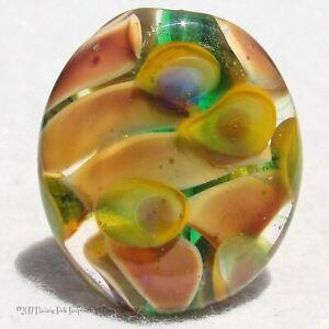 PLUCKY-Handmade-Art-Glass-Focal-Bead-Flaming-Fools-Lampwork-Art-Glass-SRA