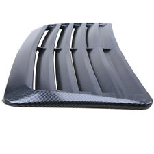 Carbon Fiber Look Print Scoop Intake Vent Car Universal Front Hoods Vent Cover Fits More Than One Vehicle