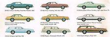 1977 FORD LTD II (2) Auto Brochure/Catalog: Brougham,Squire Station Wagon,S,
