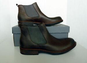 512034 02072 Size 12-12.5 Coffee NIB Men/'s ECCO Kenton Chelsea Boots