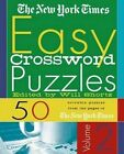The New York Times Easy Crossword Puzzles, Volume 2: 50 Solvable Puzzles from the Pages of the New York Times by The New York Times (Spiral bound, 2001)