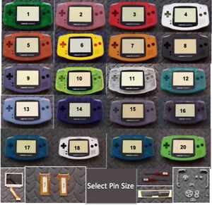 Game-Boy-Advance-Backlight-Backlit-Adapt-AGS101-Mod-Kit-w-LCD-Pick-Color