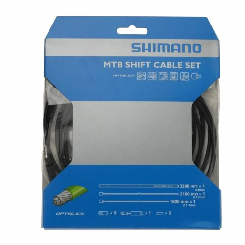 Shimano sl-m8000 optislick boutons câble-SET noir 2018 Schaltzug Housse MTB NEUF