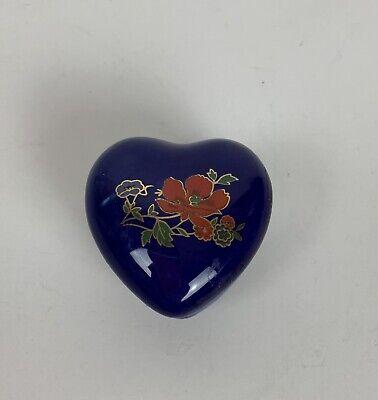 with Seashells Engraved! Baby Blue Ceramic Heart Shaped Box