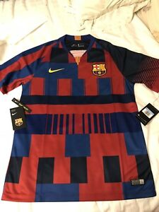 best service 58ce7 1a434 Details about Nike FC Barcelona Mashup Limited Edition Jersey, ORIGINAL