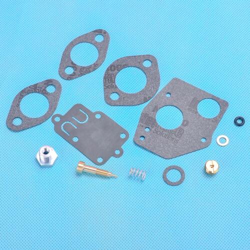 Carburetor Carb Rebuild Kit Fit Briggs /& Stratton 495606 494624 3-5HP Engine