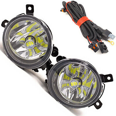 2Pcs LED Fog Light With Bulb For Audi A4 B7 2005-2008 And Wire