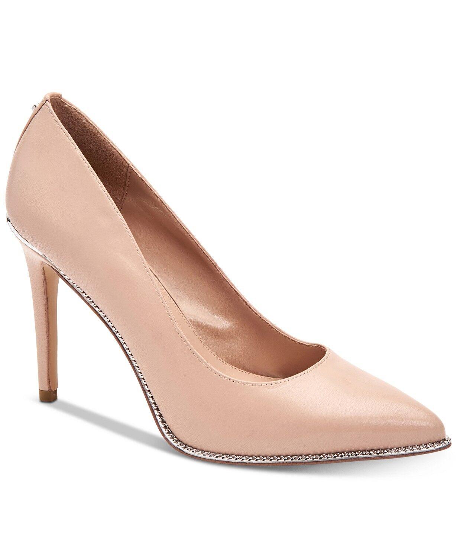 Bcbgeneration femmes Harleigh Chaîne Bout Pointu chaussures Taille 7.5 COQUE Cuir