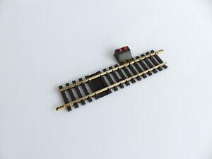 Jouef 4852 Rail Droit Une Coupure Avec Bornes D'alimentation Maillechort Mode Attrayante