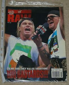 WWF-MAGAZINE-RAW-MAY-1998-WRESTLING-NEW-AGE-OUTLAWS-COVER-amp-POSTER-WWE