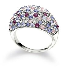 Chamilia - Retired Charms - Jeweled Kaleidoscope Ring, Purple - Size 7 3125-0008