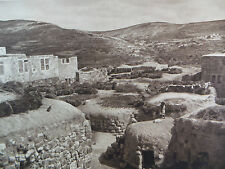 1925 SAMARIA VILLAGE Architecture Israel Shomron Levant West Bank Photogravure