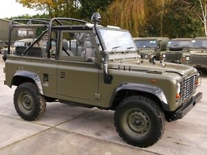 Land Rover Defender Snorkel Raised Air Intake 300tdi TD5 TDCi Puma