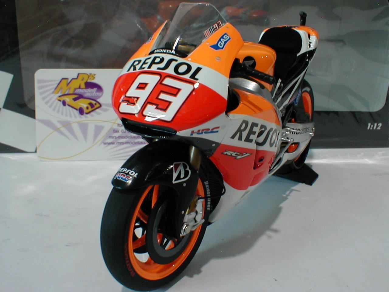 Minichamps 122141193 - Honda RC213V No.93 WM MotoGP 2014 Marc Marquez 1 12