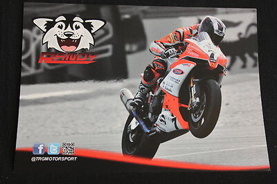 Card Trg Aprilia Rsv4 2013 #7 Randy Gevers (ned) Dutch Super Bikes (hw)