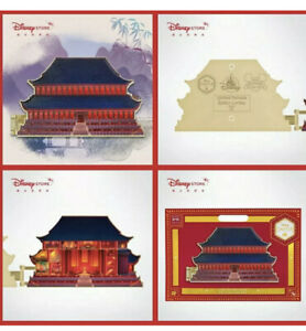 Disney Mulan Castle Collection Pin Series 3 10 Limited Release In Hand Ebay