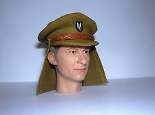 Banjoman 1:6 Scale Custom WW2 British S.A.S. Cap With Neck Shield