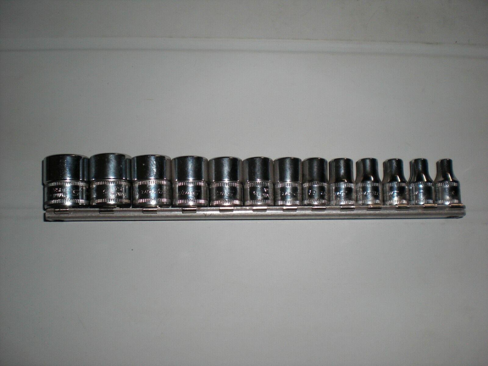 1 4  Snap-on Nußsatz 6-kant 4-15mm Neu 112TMMY