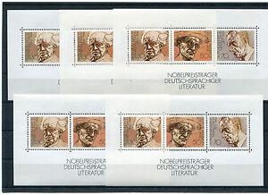 Bund-Block-16-postfrisch-5-Stueck-BRD-959-961-Block-Sammlung-Nobelpreis-MNH