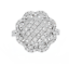 1-38Ct-Naturel-Diamant-14K-Blanc-Solide-or-Anneau-Bague miniature 1
